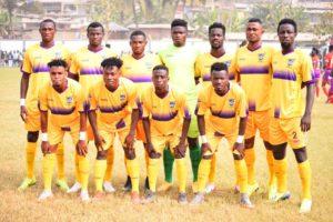 Coach Samuel Boadu name Medeama SC's starting eleven to face Eleven Wonders