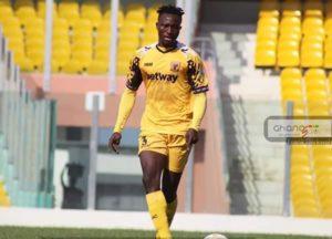 I couldn't eat after WAFA beat us 6-1 – Ashgold defender Mubarik Yussif disclose