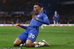 Hudson-Odoi named in TOP 10 u-20 Premier League stars