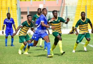 Live Updates: Great Olympics 2-0 Ebusua Dwarfs - Ghana Premier League Matchday 13