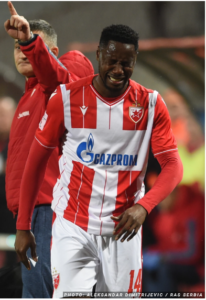 GFA Spokesperson reveals there are no plans to replace Red Star Belgrade striker Boakye-Yiadom for Sudan game