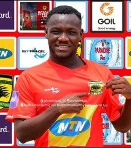 Asante Kotoko midfielder Emmanuel Sarkodie to miss the rest of the season