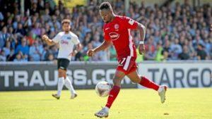 Struggling Fortuna Düsseldorf to benefit from Bernard Tekpetey's stay at club next season