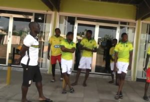 VIDEO: Kotoko players lighten up on the streets of Accra ahead of Elmina Sharks encounter today