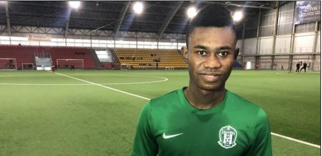 VIDEO: Ghanaian midfielder Francis Kyeremeh gives 1st interview as Vilnius Zalgiris player