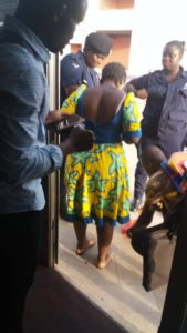 Police apprehend woman for selling 'wee' at the Accra Sports Stadium