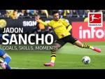 Best of Jadon Sancho - Best Goals, Skills, Moments and More