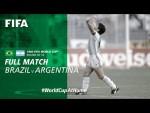 #WorldCupAtHome | Brazil v Argentina (Italy 1990)