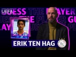 TEN HAG tries to recognize his AJAX players from baby photos!!