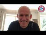 Arjen Robben joins FC Bayern's Cyber Training