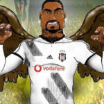 Kevin-Prince Boateng posts an eagle caricature of himself