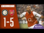 WHAT A PERFORMANCE!   Inter Milan 1-5 Arsenal   Champions League Highlights   2003