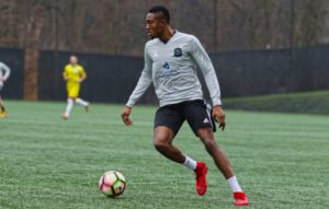 Loudoun United FC attacker Elvis Amoh admits he misses football