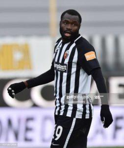 Covid-19: We now train on Skype – Juve Stabia midfielder Bright Addae