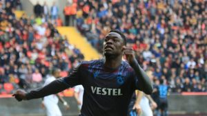 Celtic submit €6m bid to sign Ghana striker Caleb Ekuban from Trabzonspor