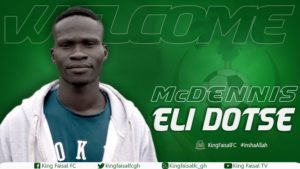 King Faisal wrap up signing of McDennis Eli Dotse