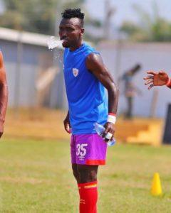 Am following my personal training program at home - Hearts midfielder Emmanuel Nettey