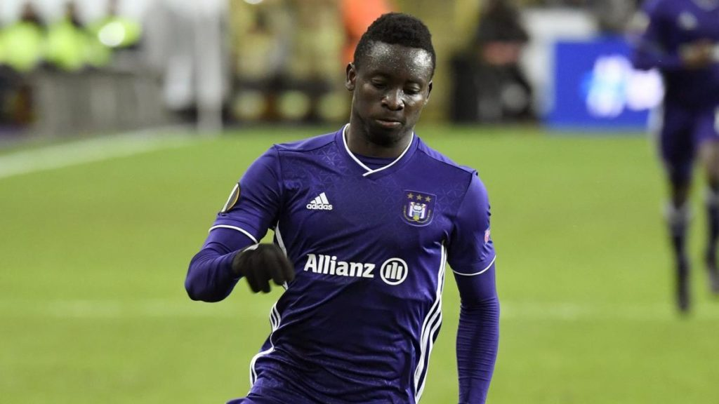 Dauda Mohammed has no future at Anderlecht; Set to be released this summer