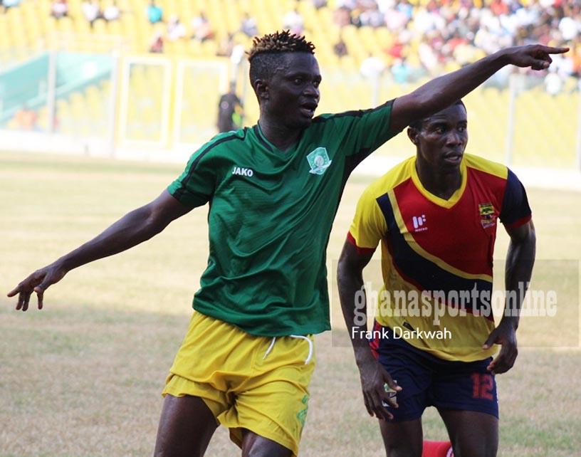 Elmina Sharks midfielder Richard Mpong opens up on why he left Asante Kotoko