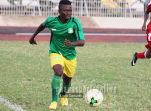 Asante Kotoko fans treated me unfairly - Elmina Sharks midfielder Richard Mpong