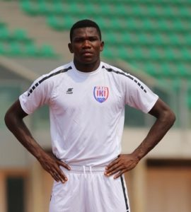 Inter Allies striker Godfrey Utim set sights on European move after COVID-19 pandemic