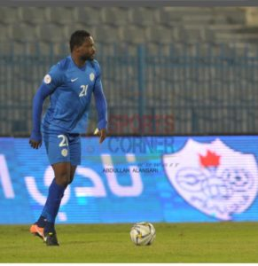 Al Shabab to decide fate of defender Vincent Atinga next month as his contract nears expiration