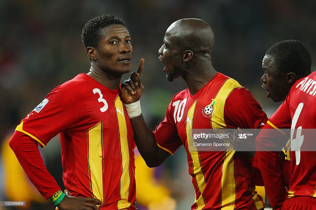 I called Akonnor, Abedi and Kuffour for blessing before becoming captain- Stephen Appiah