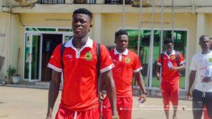 Highly-rated youngster Kingsley Osei Effah targets Asante Kotoko return
