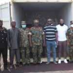 Legon Cities FC and CareWorld Global supports 37 Military Hospital COVID-19 Treatment Centre