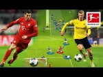 How Haaland & Lewandowski Score Their Goals - Tactical Analysis