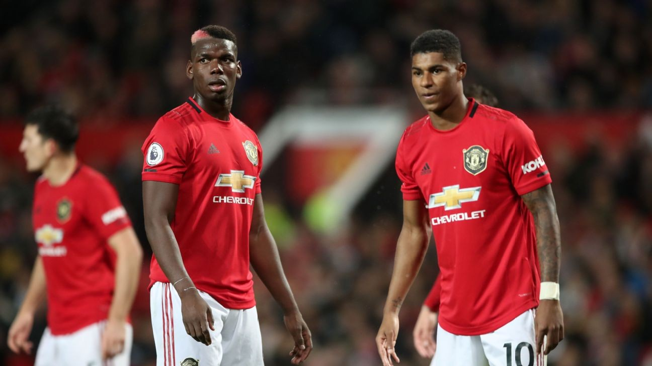 Man United's Pogba, Rashford fully fit for Premier League restart - Solskjaer