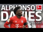 The Story of Alphonso Davies - From Refugee to Bundesliga Star