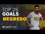 TOP 25 GOALS Álvaro Negredo en LaLiga Santander
