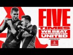 5 times Arsenal defeated Manchester United