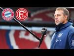 LIVE 🔴 Pressekonferenz mit Hansi Flick nach dem Spiel des FC Bayern München gegen Fortuna Düsseldorf