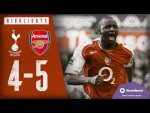 North London is red | Tottenham Hotspur 4-5 Arsenal | Classic highlights | 2004