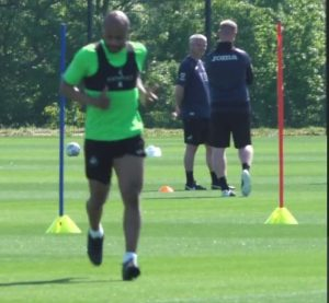 Ghana skipper Andre Ayew resumes training at Swansea City
