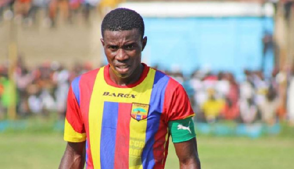 Thomas Abbey apologize to Hearts over comments of unpaid salaries before 2017 MTN FA Cup final
