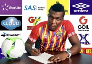 My family had an influence on my decision to join Hearts - Abednego Tetteh