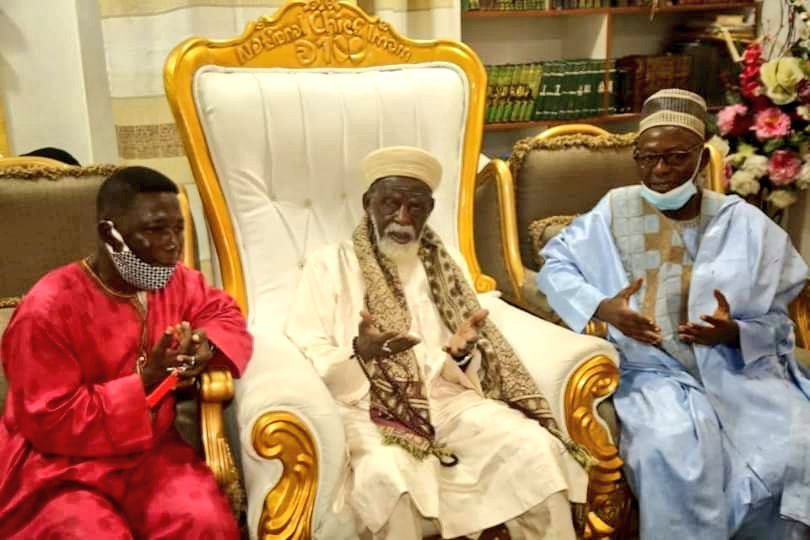 Togbe Afede XIV: Hearts of Oak bankroller donates to Chief Imam - PICTURES