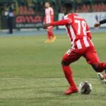 Alfred Mensah eyes starting role this weekend when KF Skënderbeu takes on Partizani Tirana