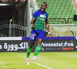 Striker John Antwi considering a switch from FC Pyramids this summer