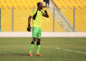 George Apronti: Inter Allies goalie doing well after being involved in an accident