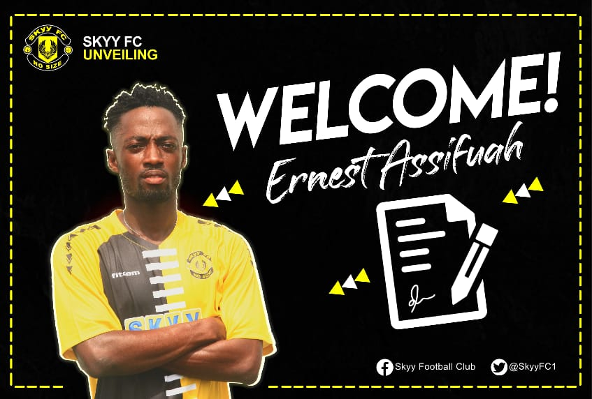 DOL side Skyy FC sign midfielder Ernest Assifuah
