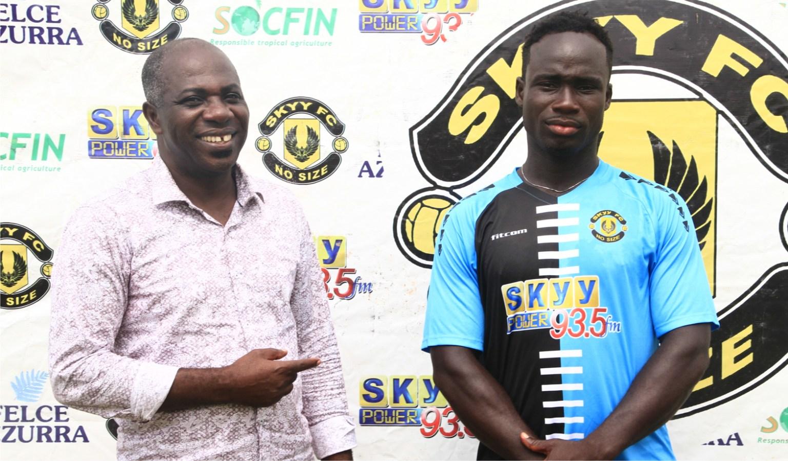 Skyy FC wrap up signing of striker Nicholas Arthur