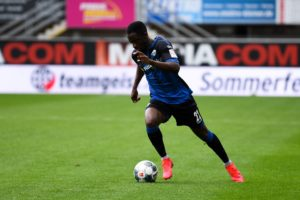 Ghanaian winger Christopher Antwi-Adjei features as Paderborn draw against Augsburg