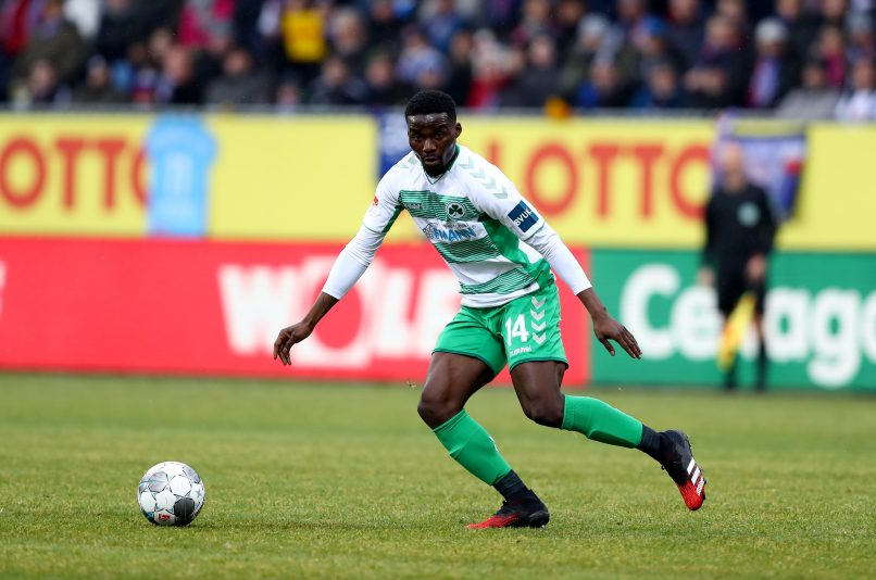 Hans Nunoo Sarpei wants to earn promotion with Greuther Fürth to the Bundesliga