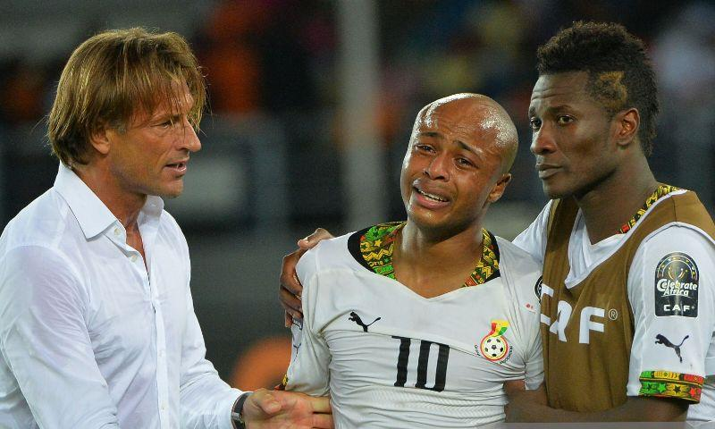 Ex-Sunderland striker Asamoah Gyan was lazy in training - Hervé Renard