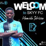 DOL side Skyy FC signs Hamidu Idrissu from Cheetah FC