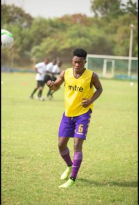 Tema Youth youngster Richmond Darko dream of winning the UEFA Champions League